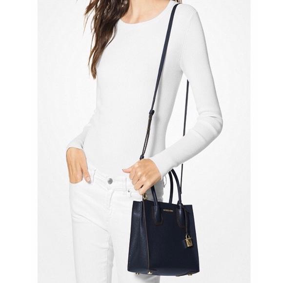 c59229530baf Michael Kors Bags | Mercer Studio Medium Messenger Bag | Poshmark